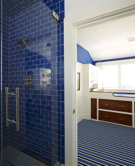 nautical tiles for bathroom the pink pagoda blue and white monday with lynn morgan design