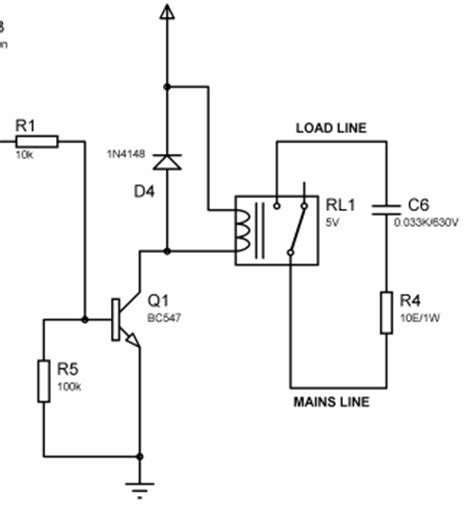 snubber diode across relay coil 230v relay switching problem with rf
