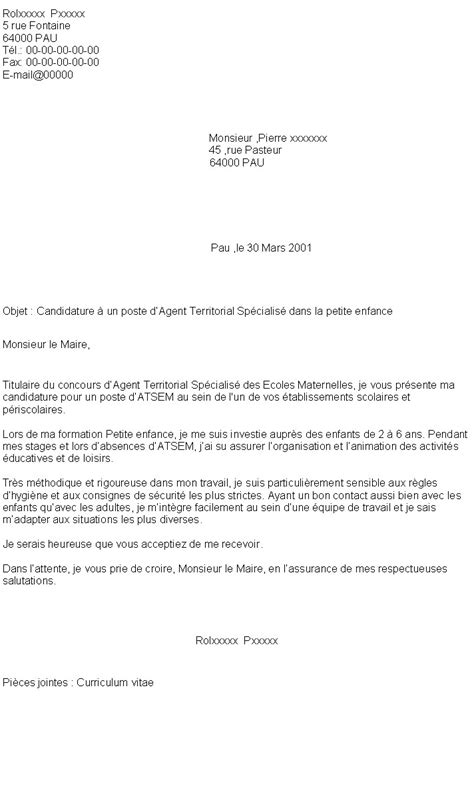 Lettre De Motivation Ecole Privee Catholique