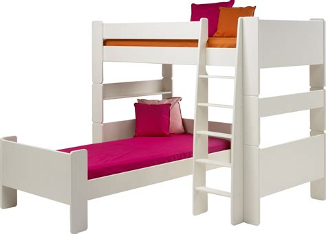 Single Bed Sleeper by Steens For High Sleeper And Single Bed In Solid Plain White
