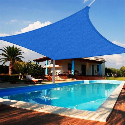 shade cover for patio quictent 24 x 24 ft square sun shade sail outdoor patio