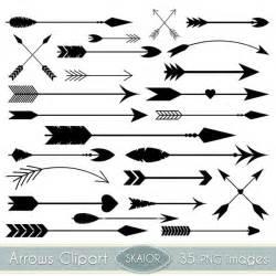 Arrows clipart vector arrows clip art tribal digital arrows aztec