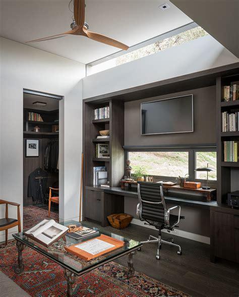 inspiring mid century modern home office designs