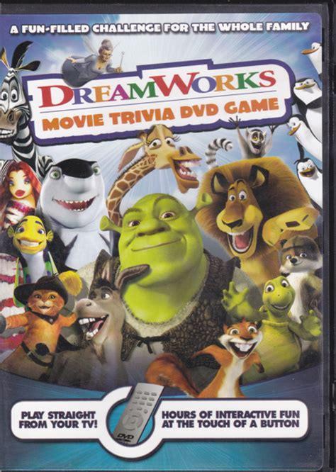 film quiz dvd free dreamworks movie trivia dvd game dvd listia com