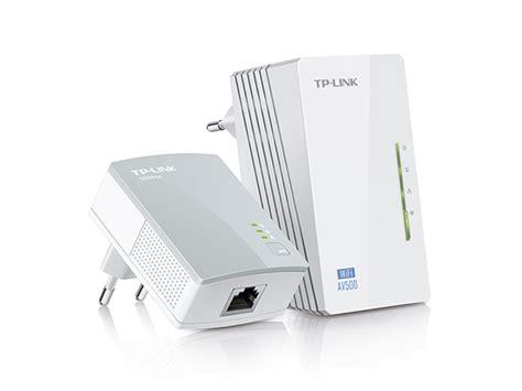 powerline 2 porte starter kit powerline av500 wireless n 300mbps con 2 porte