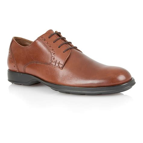 oxford shoes casual lotus lace up casual oxford shoes in brown for lyst