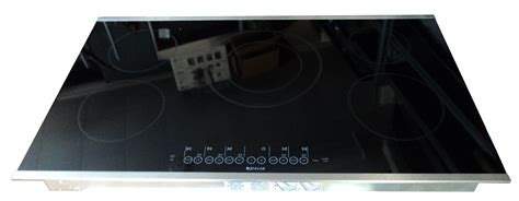 induction stove jenn air jenn air jei0536ads 36 stainless steel induction cooktop kitchen guys residential and