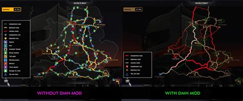 ets2 uk map discovery map helper v1 3 ets2 truck simulator 2 mods