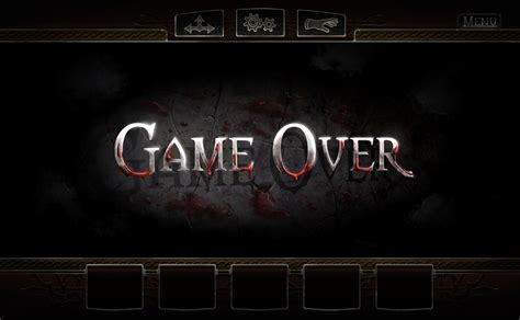 wallpaper game over hd game over screen image castle dracula indie db