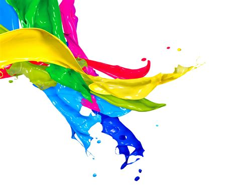 color for colored ink and water mix wallpaper paint splash