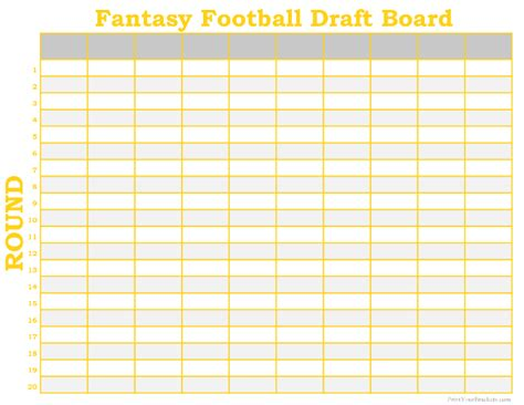 football draft board template cool board wonderful football draft board labels