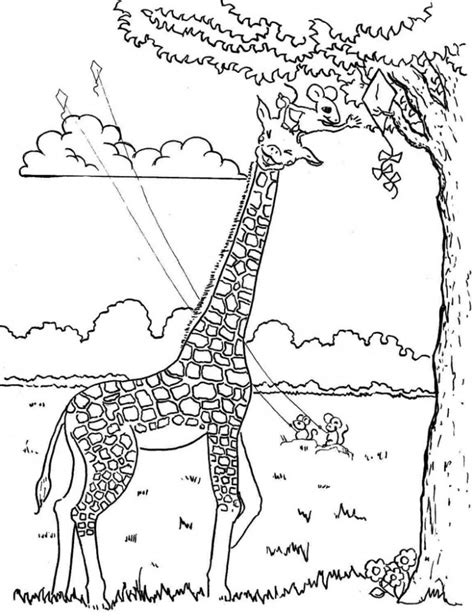 christmas giraffe coloring pages preschool giraffe coloring pages 5 171 funnycrafts