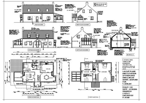 how to draw a house plan construction drawings