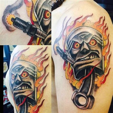 rat rod tattoo designs 25 b 228 sta id 233 erna om rod p 229
