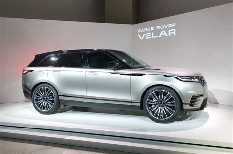 range rover white 2018 2018 land rover range rover velar first look