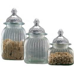 Clear Glass Kitchen Canisters Pin By Pat Gunder On Decor My Next Place Pinterest