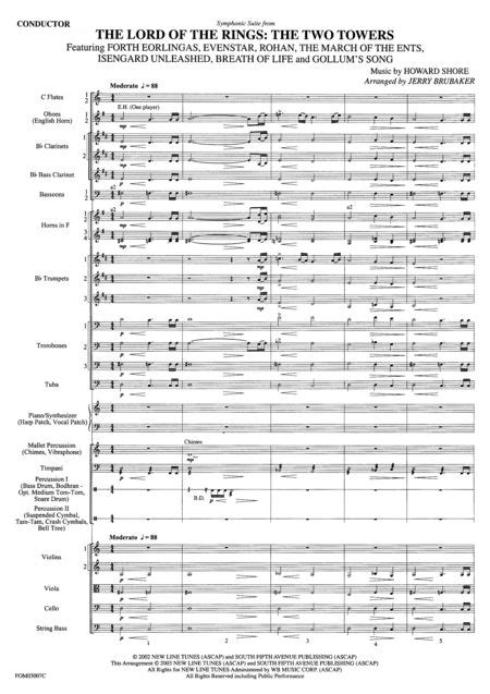 Symphonic Suite From Lord Of The Rings: The Two Towers
