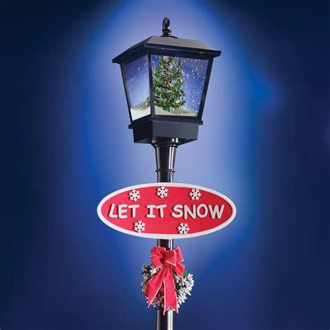Snowing Christmas Decoration Let It Snow