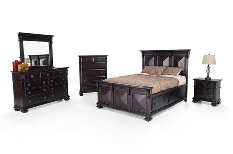 Storage Bedroom Furniture Sets Prism Storage Bedroom Set Bob S Discount Furniture
