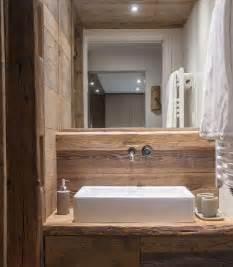 Rustic Bathroom Design Waschtisch Rustikal Holz Badezimmer Landhaus Modern