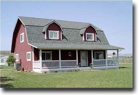 gambrel style home barns gambrel and gambrel barn on pinterest
