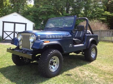 Jeep Parts Houston Purchase Used 1981 Jeep Cj7 Laredo Auto 4x4 Hardtop Clean