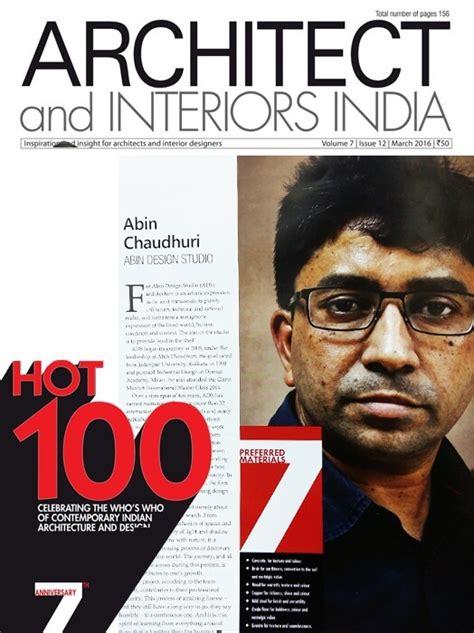 Architect And Interiors India Magazine by Home Abin Design Studio