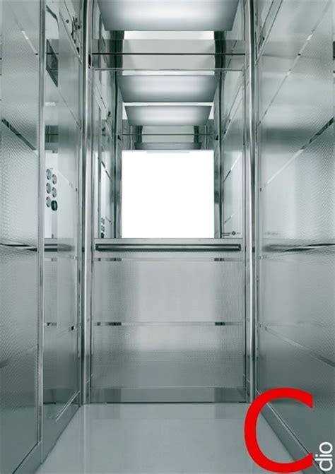cabine ascensori foto cabina per ascensore in acciaio inox antigraffio di