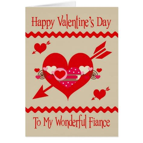 s day to fiance greeting card zazzle