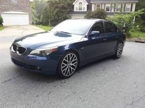 buy car manuals 2006 bmw 5 series instrument cluster find used 2006 bmw 530i e60 5 series manual transmission 6 speed in charlotte north