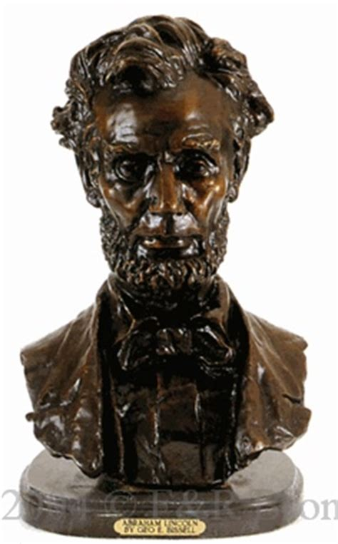 abraham lincoln bronze by bissell