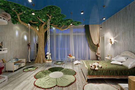 forest bedroom decor 22 of the most magical bedroom interiors for kids