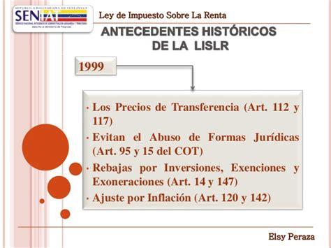 modificaciones art 111 y 112 ley del isr ley impuesto sobre la renta