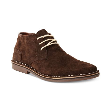suede chukka boots kenneth cole reaction realdeal suede chukka laceup boots