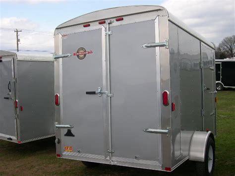 carry on 6 x 10 enclosed cargo trailer barn door