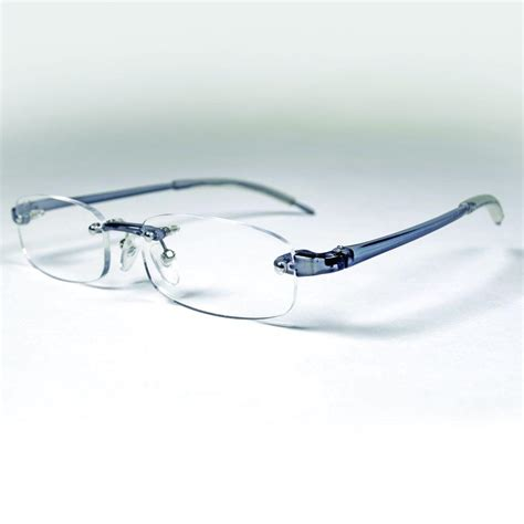 magnifeye reading glasses sport gray 2 0 magnification