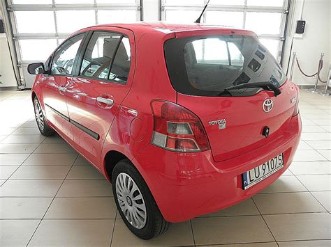 Lu Yaris toyota yaris 1 33 premium benzyna 2011 r autoranking pl
