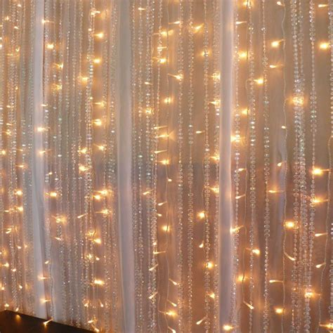 drape lights 2m led curtain lights festive lights