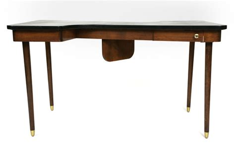 S Shaped Desk by Leather Top S Shaped Desk Modern Furniture