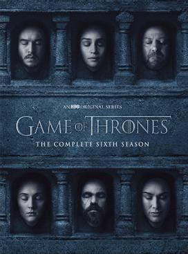 Game Of Thrones Season 6 Wikipedia The Free Encyclopedia | file game of thrones season 6 jpeg wikipedia