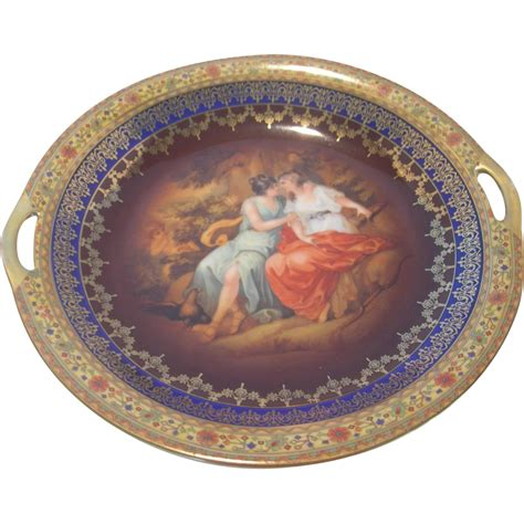czech decorative plate from dorothysbling on ruby lane