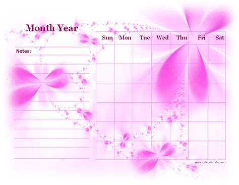 monthly blank calendar  purple shade  printable templates