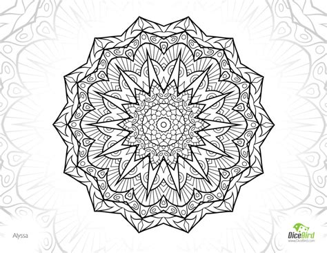 coloring pages for adults com coloring pages alyssa mandala free colouring pages for