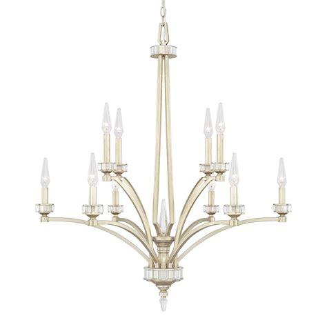 Capital Lighting Chandelier Capital Lighting 415001wg 10 Light Chandelier In Winter Gold Homeclick
