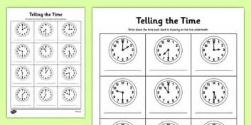 clock worksheets o clock and half past half past time worksheets o clock half past times