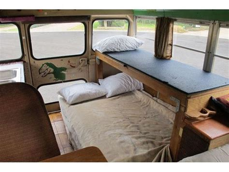 hippie van bed beds in a bus hippie stuff pinterest buses beds and