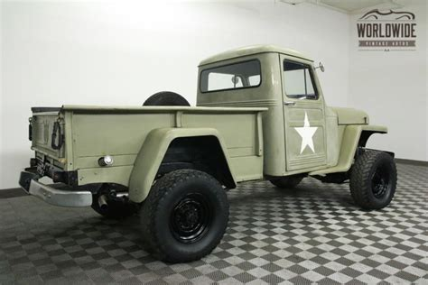 Truck Vs Jeep 1952 Jeep Willys V8 4x4 For Sale