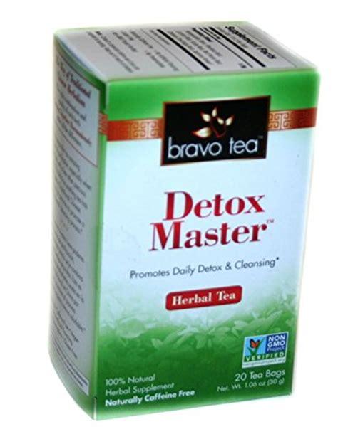 Detox Bag by Detox Master Tea 20 Bag 3 53ea From Bravo Tea