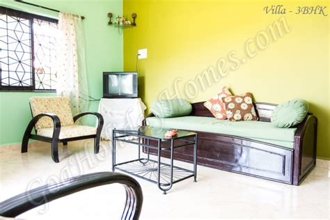 The Living Room Anjuna Goa House For Rent Located At Anjuna In Goa