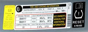 Tires Air Pressure Recommended What Is The Recommended Tire Pressure For New Tires Doc